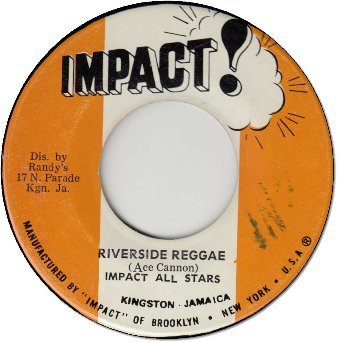RIVERSIDE REGGAE (VG) / VERSION