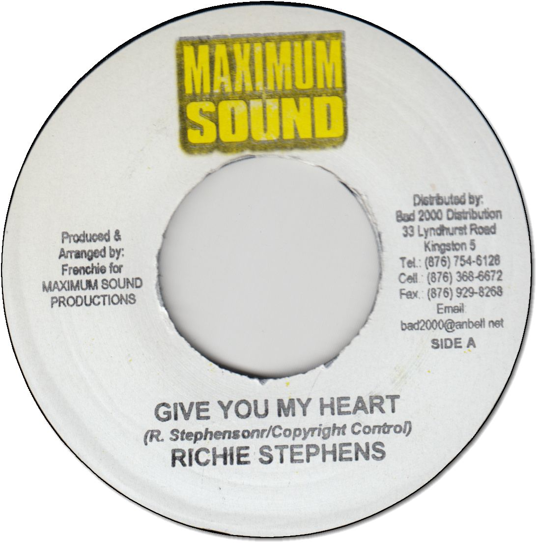 GIVE YOU MY HEART (VG+)