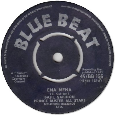ENA MENA (VG) / SINCE YOU ARE GONE (G)
