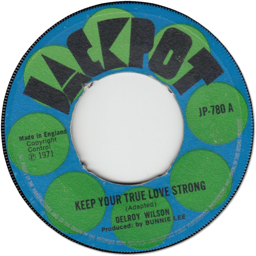 KEEP YOUR TRUE LOVE STRONG (VG-) / NICE TO BE NEAR (VG)