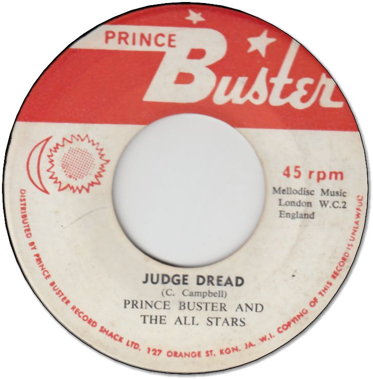 JUDGE DREAD (VG) / SITTING IN NAYA (VG+)