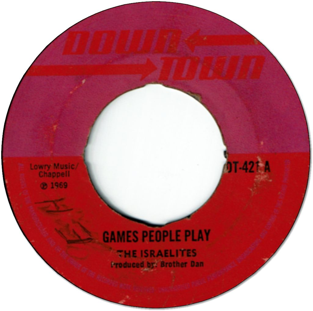 GAMES PEOPLE PLAY (VG to VG+) / ONE FINE DAY (VG)