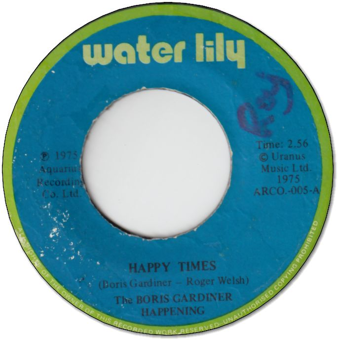 HAPPY TIMES (VG/WOL) / VERSION TIME (VG/WOL)
