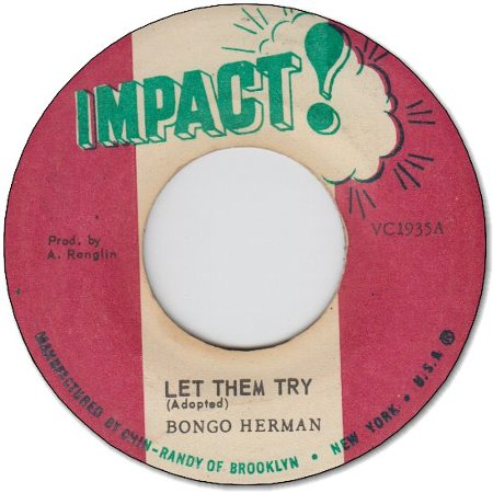 LET THEM TRY (VG) / DUB IN DRUMS (VG)