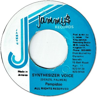 SYNTHESIZER VOICE (VG+)