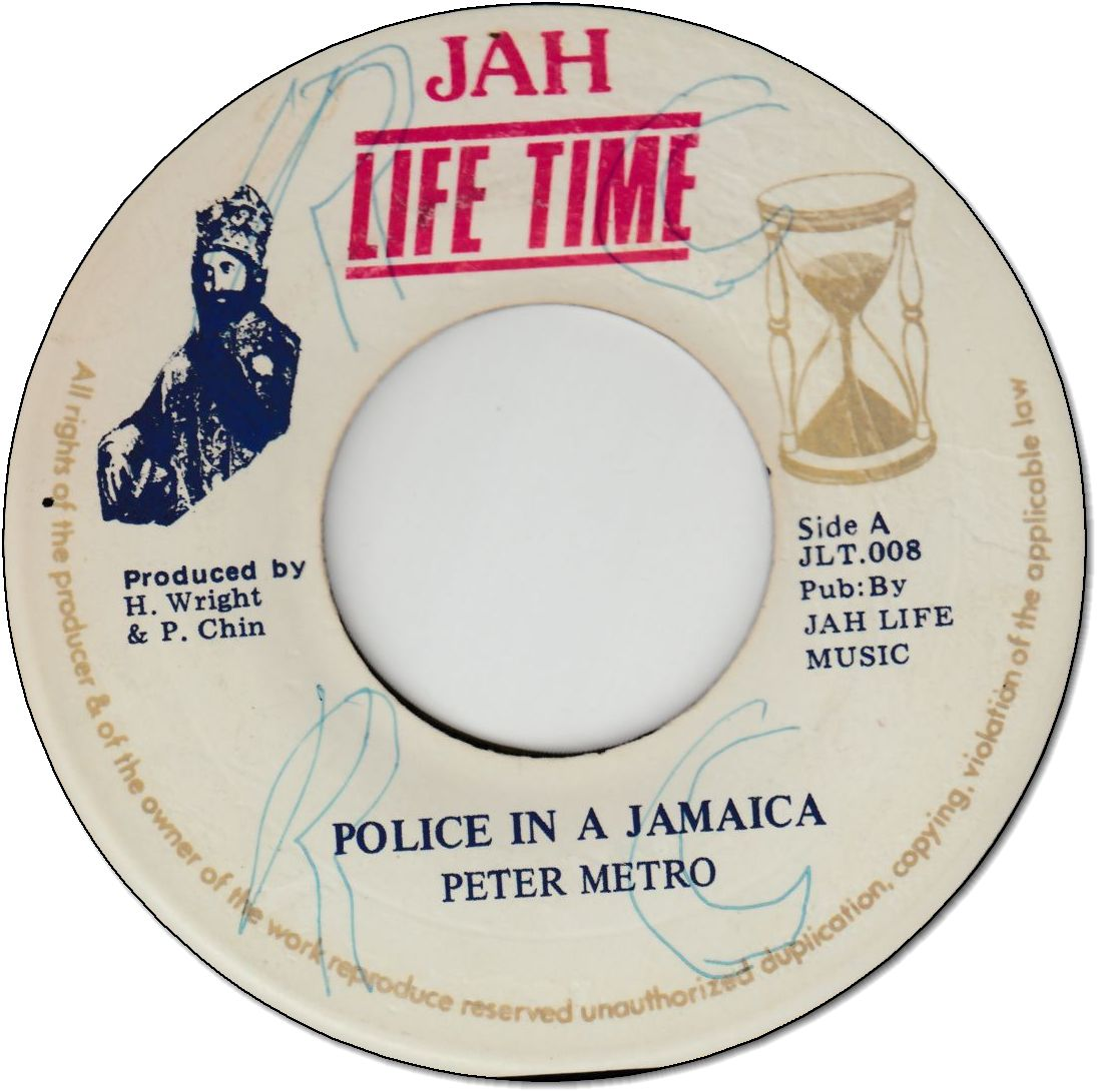 POLICE IN A JAMAICA (VG+/WOL)