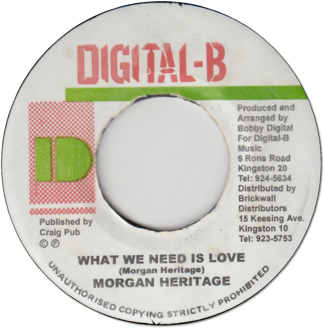 WHAT WE NEED IS LOVE (VG+)
