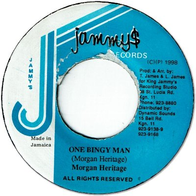 ONE BINGY MAN (VG+)