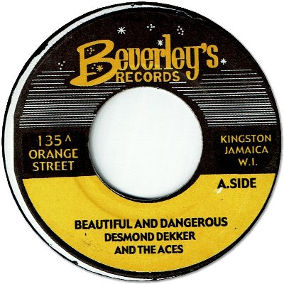 BEAUTIFUL & DANGEROUS (VG+) / AT THE DISCO THEQUE (VG+)