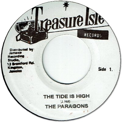 TIDE IS HIGH (VG+) / unknown (VG)