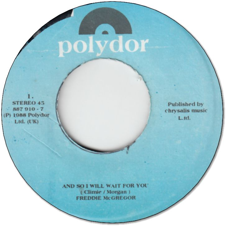 AND SO I WILL WAIT FOR YOU (VG) /LOST TILL YOU FIND ME (VG)