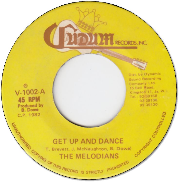 GET UP AND DANCE (EX) / VERSION (VG+)