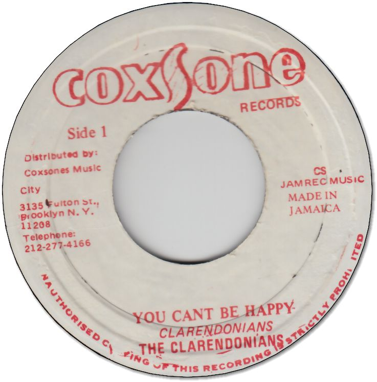 YOU CAN'T BE HAPPY (VG) / YOU CAN'T KEEP ME DOWN (VG)