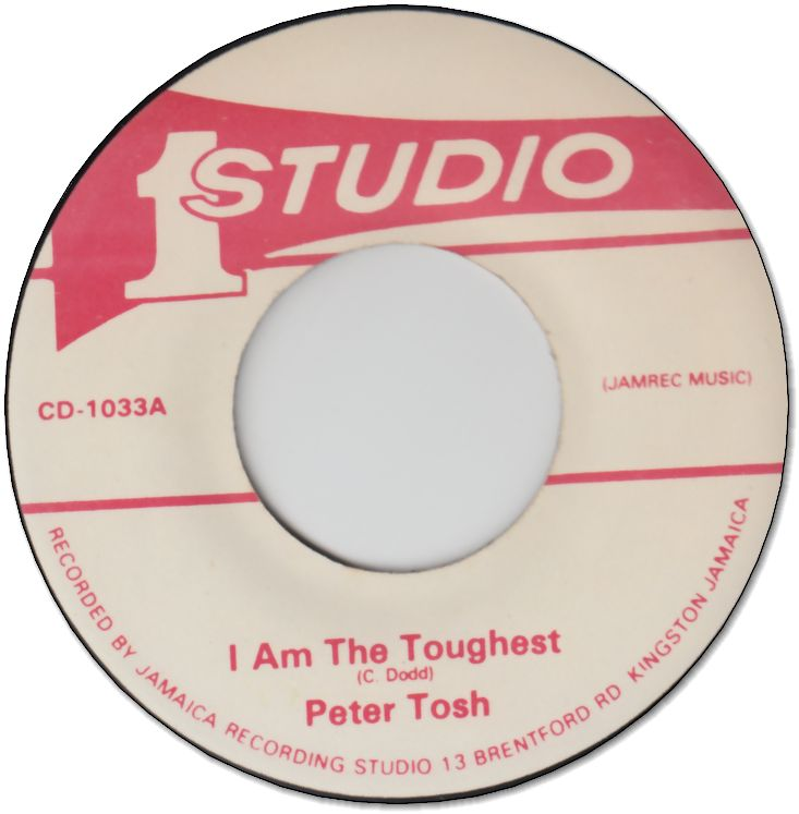 I AM THE TOUGHEST (VG+) / TOUGHEST VERSION (VG+)