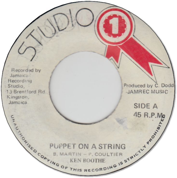 PUPPET ON A STRING (VG) / ON A DUB (VG)