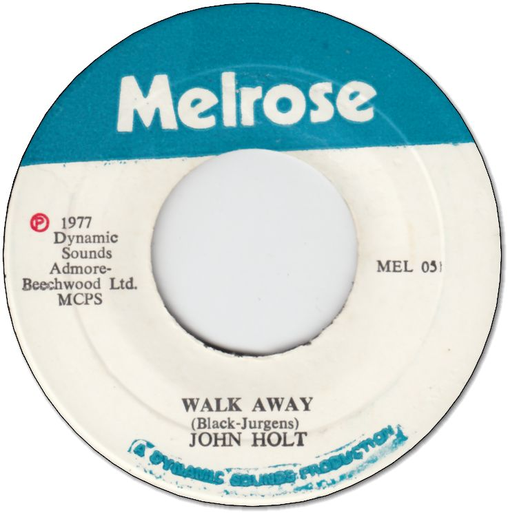 WALK AWAY (VG+) / VERSION (VG+)