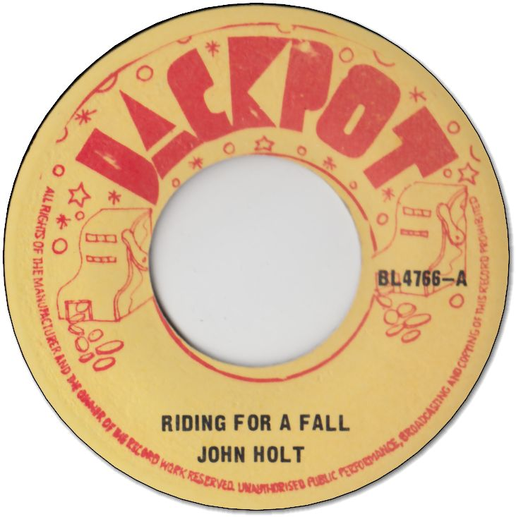 RIDING FOR A FALL (VG- to VG) / YOU DON'T KNOW (VG- to VG)
