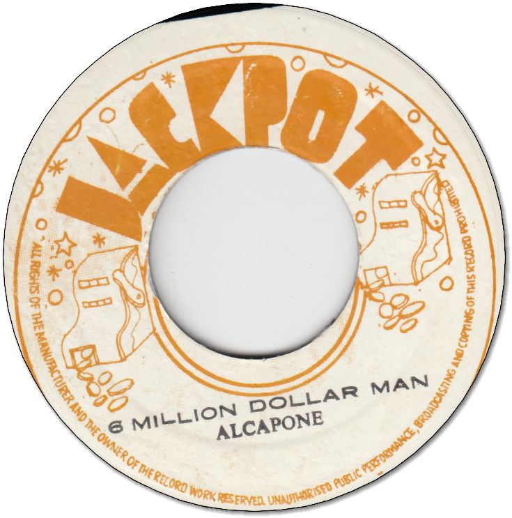 6 MILLION DOLLAR MAN (VG+) / VERSION (VG+)