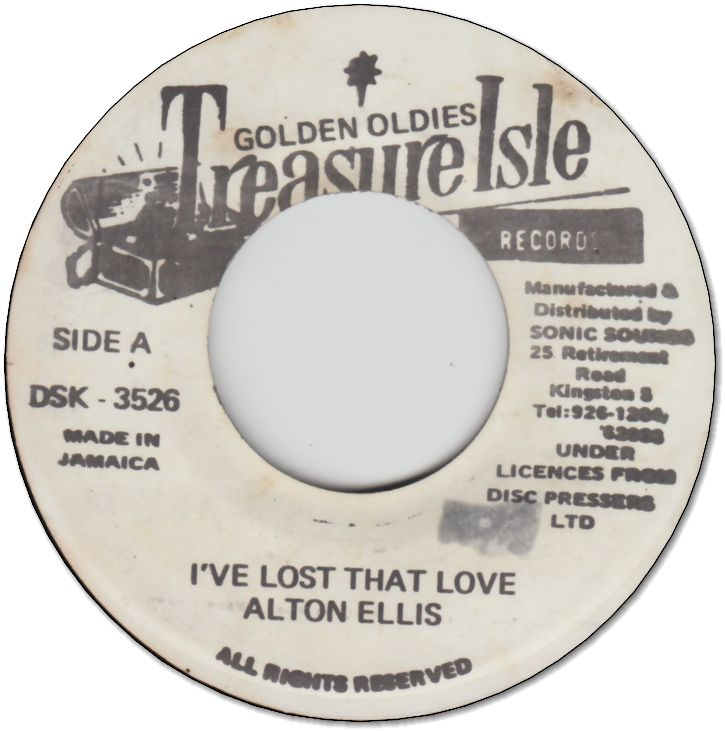 I'VE LOST THAT LOVE(=You Make Me So Very Happy) (VG) / DIANA