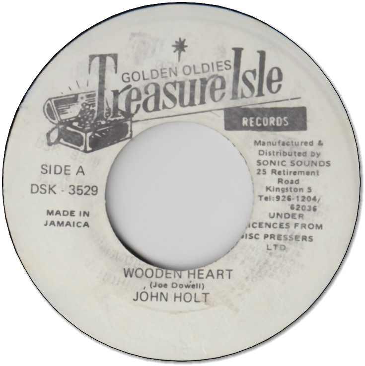 WOODEN HEART (VG+) / I WANT YOUR CLOSER (VG+)