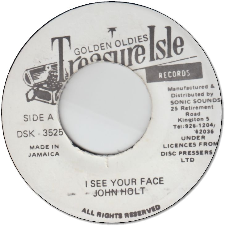 I SEE YOUR FACE (VG) / VERSION (VG)
