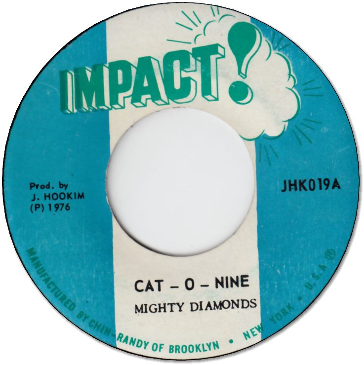 CAT-O-NINE (VG+) / VERSION