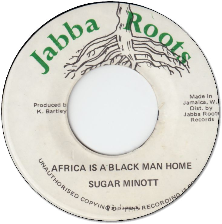 AFRICA IS A BLACK MAN HOME (VG+) / VERSION