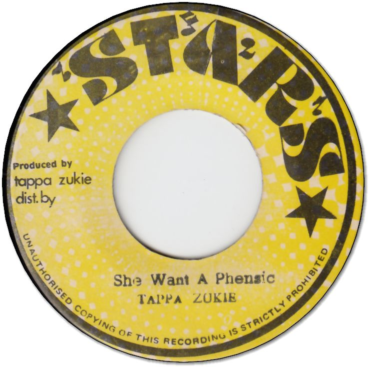 SHE WANT A PHENSIC (VG+) / VERSION