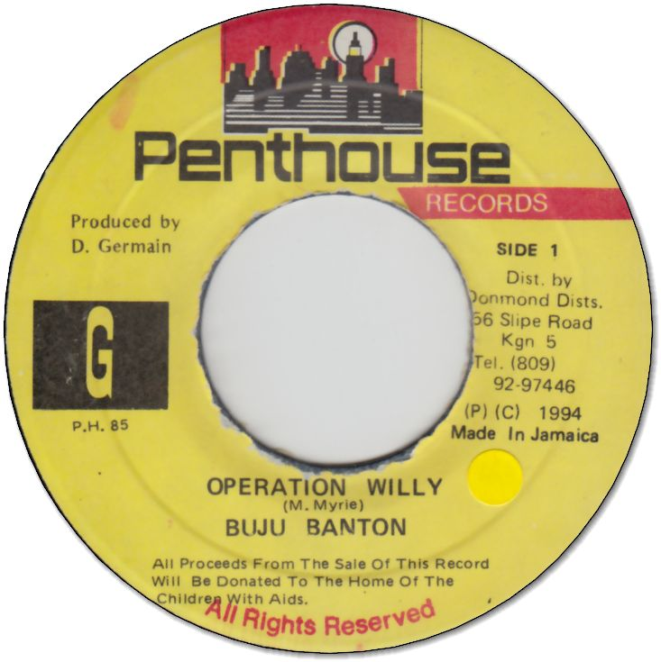OPERATION WILLY (VG+/seal)