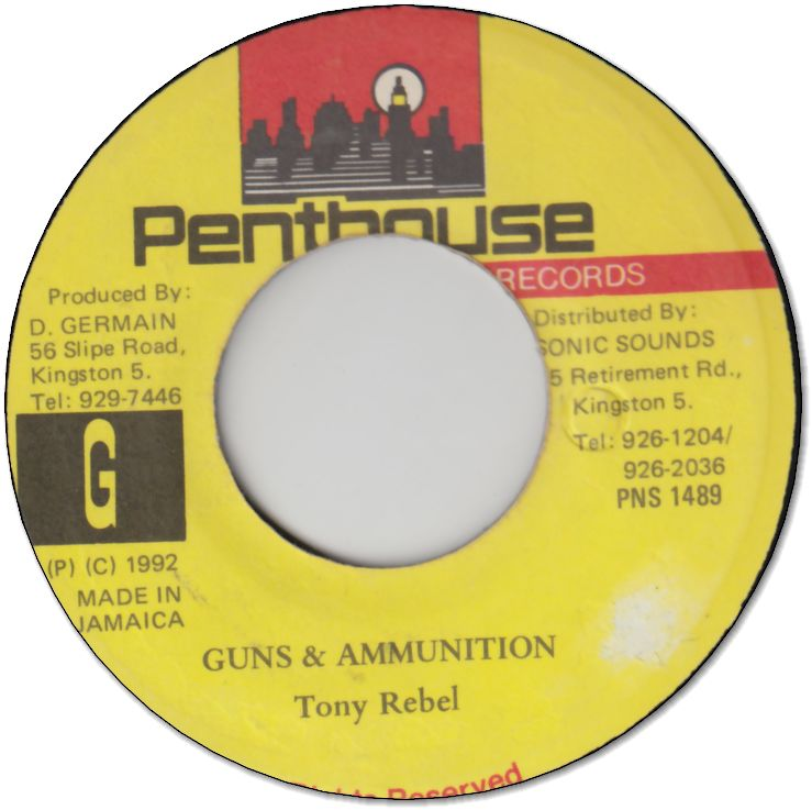 GUNS & AMMUNITION (VG+)