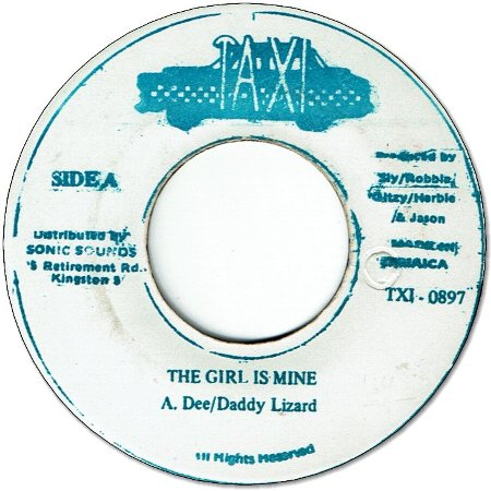 THE GIRL IS MINE (VG+)