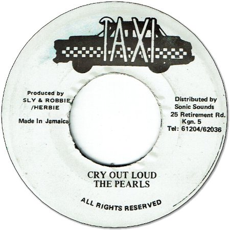 CRY OUT LOUD (VG+)