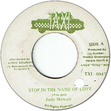 STOP IN THE NAME OF LOVE  (VG+/seal)