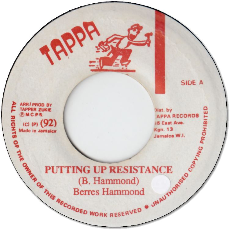 PUTTING UP RESISTANCE(VG+/seal)