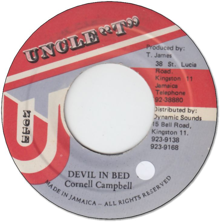 DEVIL IN BED (VG+/seal)