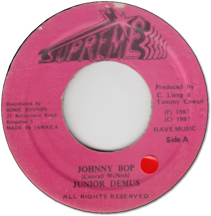 JOHNNY BOP(VG+/seal)