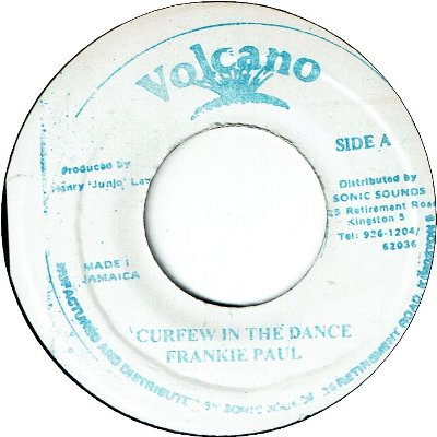 CURFEW IN THE DANCE (VG)