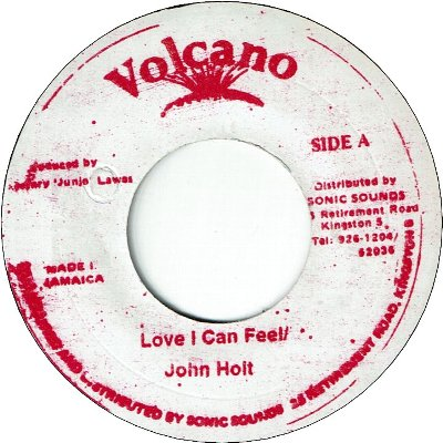 A LOVE I CAN FEEL (VG+) / VERSION (VG+)