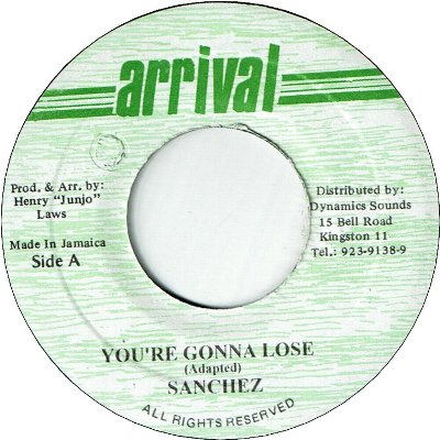 YOU'RE GONNA LOSE (VG+) / LOVE AFFAIR (VG+)