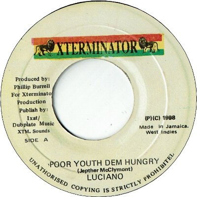 POOR YOUTH DEM HUNGRY (VG+)