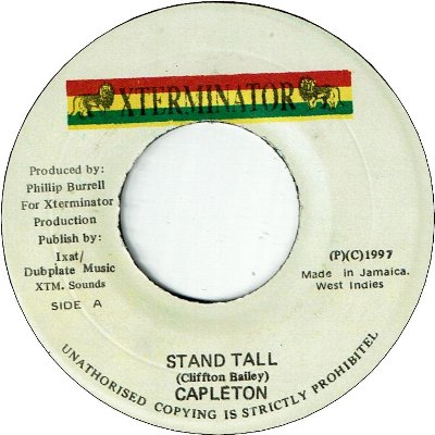 STAND TALL (VG to VG+)