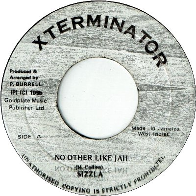 NO OTHER LIKE JAH (VG+)