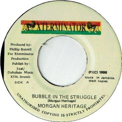 BUBBLE IN THE STRUGGLE (VG+)