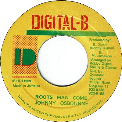 ROOTS MAN COME (VG+)