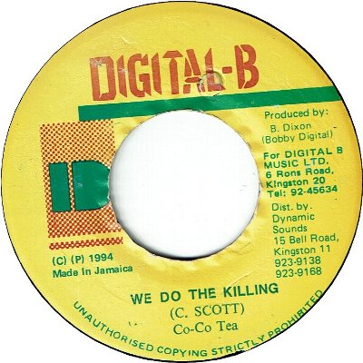 WE DO THE KILLING (VG)