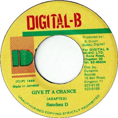 GIVE IT A CHANCE (VG+)