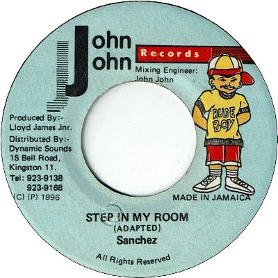 STEP IN MY ROOM (VG+)