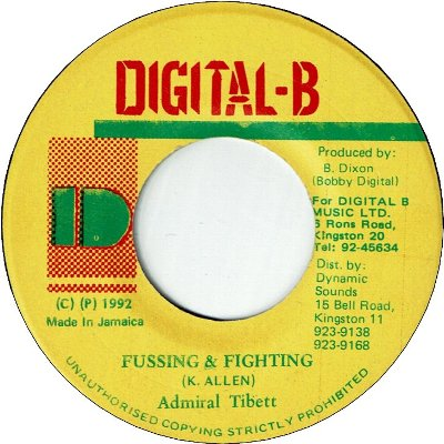 FUSSING & FIGHTING (VG+)
