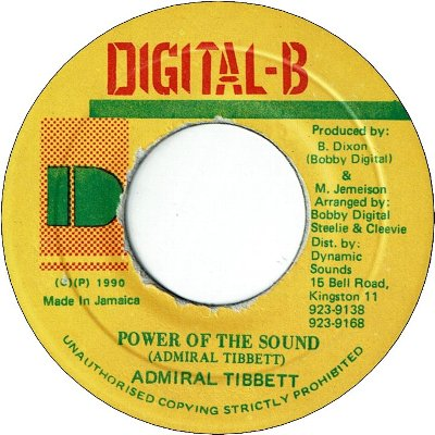 POWER OF THE SOUND (VG+)