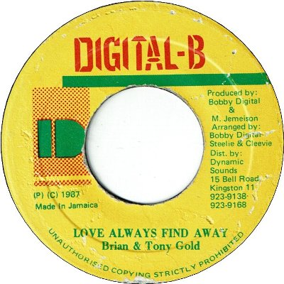 LOVE ALWAYS FIND A WAY (VG+)